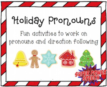 Holiday Pronouns