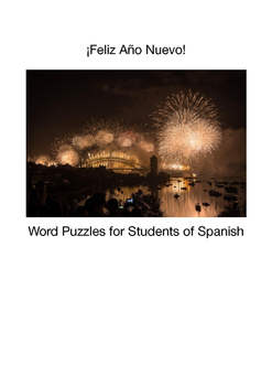 Holiday Puzzles Book for Students of Spanish