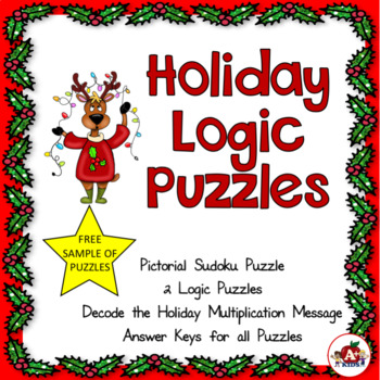 Holiday Puzzles--Freebie