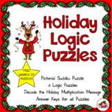 Holiday Puzzles--Freebie