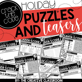 Holiday Puzzles and Brain Teasers