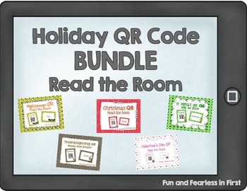 Holiday QR Code BUNDLE - Read the Room