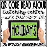 Christmas & Hanukkah Holiday QR Code Read Aloud Listening Center