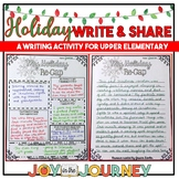 Holiday Writing Activity