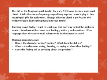 Holiday Read Aloud- Identify the problem