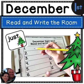 Holiday Read and Write the Room First Grade