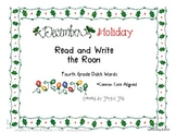 Holiday Read and Write the Room Fourth Grade