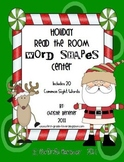 Holiday Read-the-Room Word-Shapes Center