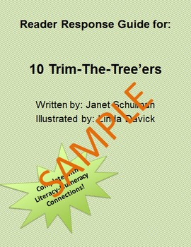 Holiday Reader Response Guide: 10 Trim the Tree'ers