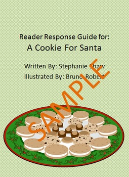 Holiday Reader Response Guide: A Cookie for Santa