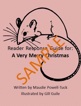 Holiday Reader Response Guide: A Very Merry Christmas