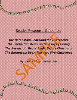 Holiday Reader Response Guide: Berenstain Bears Holiday Collection