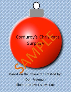 Holiday Reader Response Guide: Corduroy's Christmas Surprise