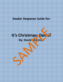 Holiday Reader Response Guide: It's Christmas, David!