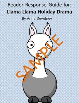 Holiday Reader Response Guide: Llama Llama Holiday Drama