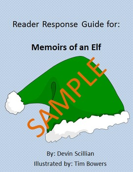Holiday Reader Response Guide: Memoirs of an Elf