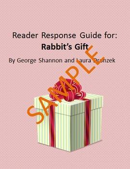 Holiday Reader Response Guide: Rabbit's Gift