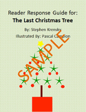 Holiday Reader Response Guide: The Last Christmas Tree