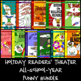 Holiday Readers' Theater Scripts All-school-year Funny Bundle-Grades 3, 4, 5 & 6