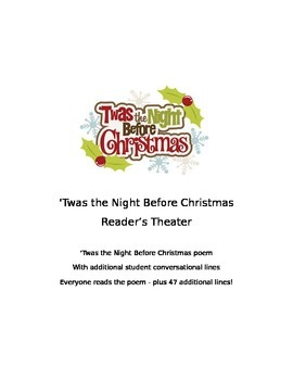 Halloween, Thanksgiving, & Christmas Reader's Theaters