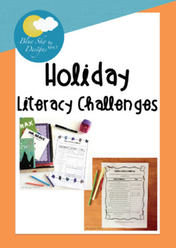 Holiday Literacy Challenges