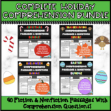 Holiday Reading Comprehension Passages