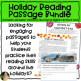Holiday Reading Passages Growing Bundle (Upper Elementary)