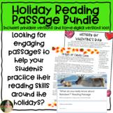 Holiday Reading Passages Bundle (Upper Elementary)