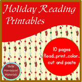 Holiday Reading Printables