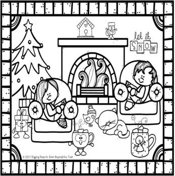 Holiday Reading ~ Snowman