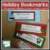 Christmas, Holiday, and Winter Bookmarks