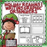Holiday Reading and Writing Graphic Organizers and Memoirs