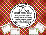 Holiday Recipe Cards *Freebie*