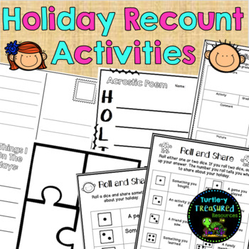 Holiday Recount Activities