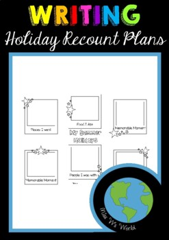 Holiday Recount Picture Plans