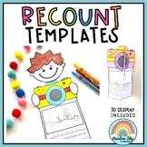 Holiday Recount / Summer Recount - 3D  Display ( Back to School)