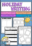 Holiday Recount Writing