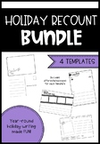 Holiday Recount Writing Bundle - Early Years
