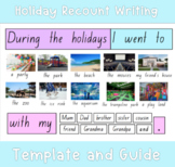 Holiday Recount Writing Guide and Display