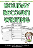 Holiday Recount Writing and Craft