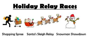 Holiday Relay Races