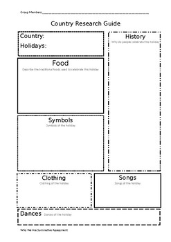 Holiday Research Guide