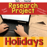 Holiday Research Project and Presentation