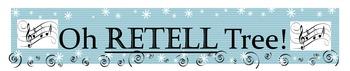 Holiday Retell Tree Bulletin Board