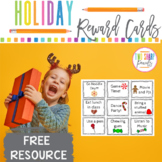 Holiday Reward Cards