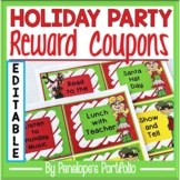 Holiday / Christmas Party Reward Coupons for the Classroom