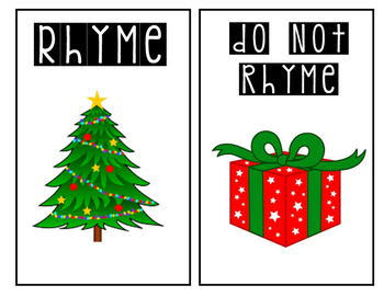Holiday Rhyme Time!