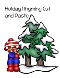 Holiday Rhyming Cut and Paste