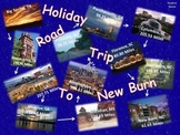Holiday Road Trip using PowerPoint