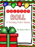 Holiday Roll Addition Subtraction Rounding Practice